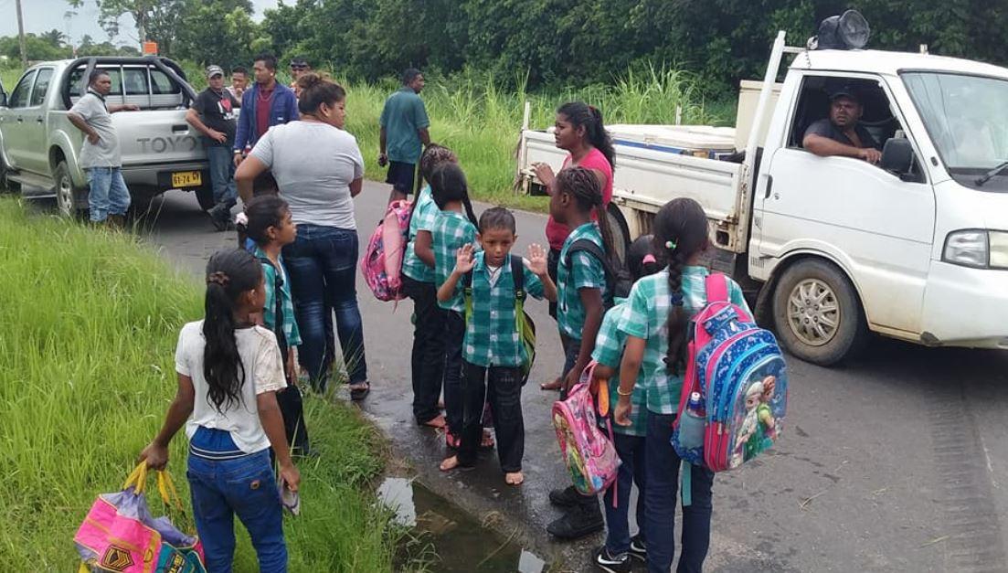 kinderen Paramaribo
