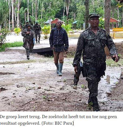vermist Suriname