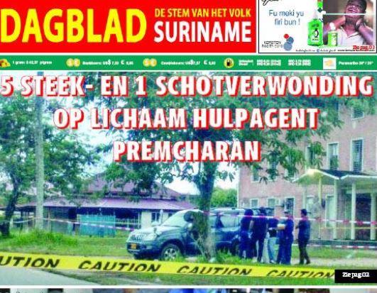 Paramaribo moord
