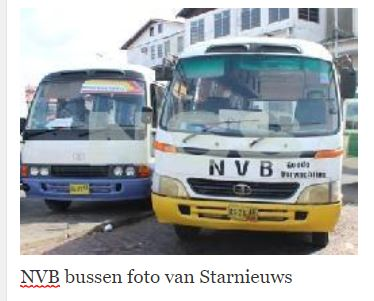 NVB bus Suriname