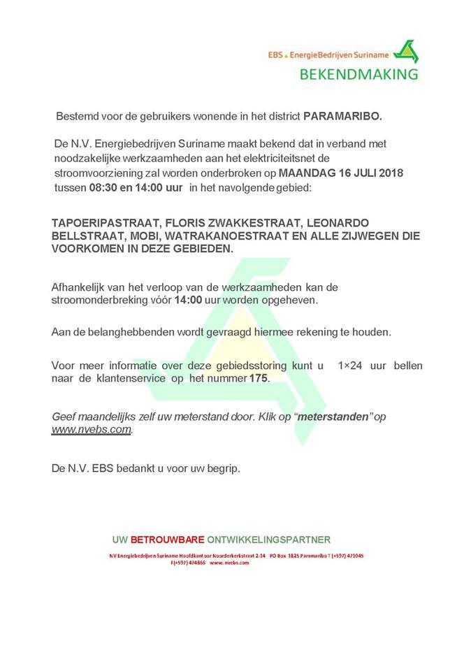 ebs Paramaribo