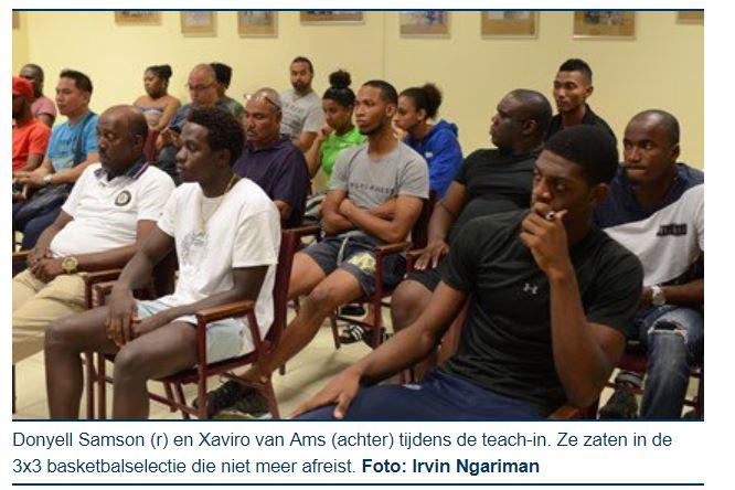 Basketbal Suriname