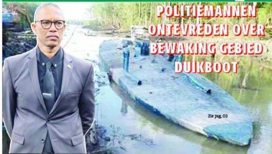 duikboot Suriname