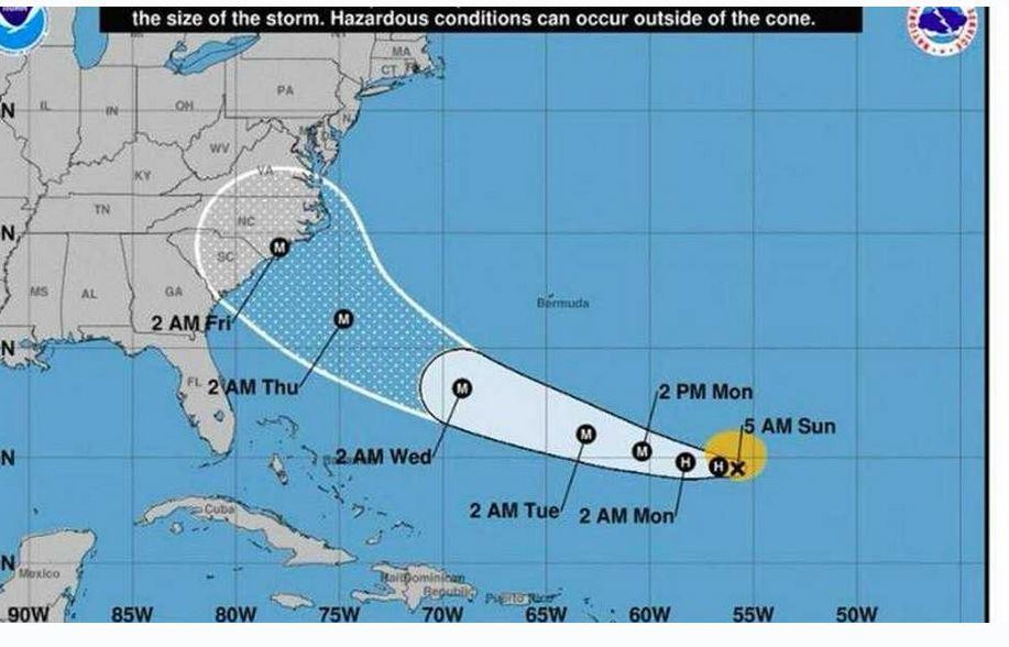 orkaan Amerika