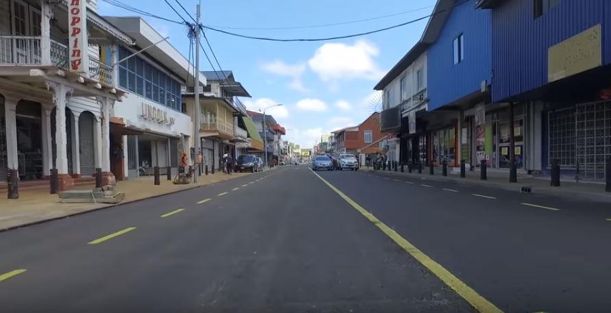 zwartenhovenbrugstraat Paramaribo