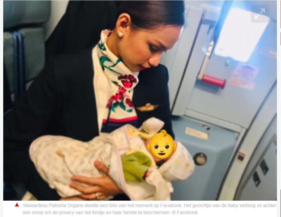 vliegtuig borstvoeding