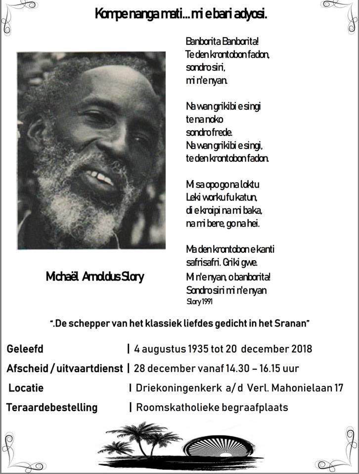 Uitvaart Gegevens Van Onze Broer Dichter Docent Michaël