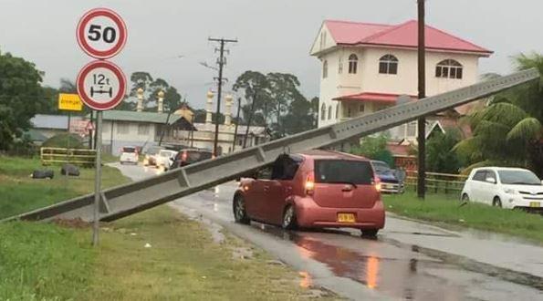 verkeer Paramaribo