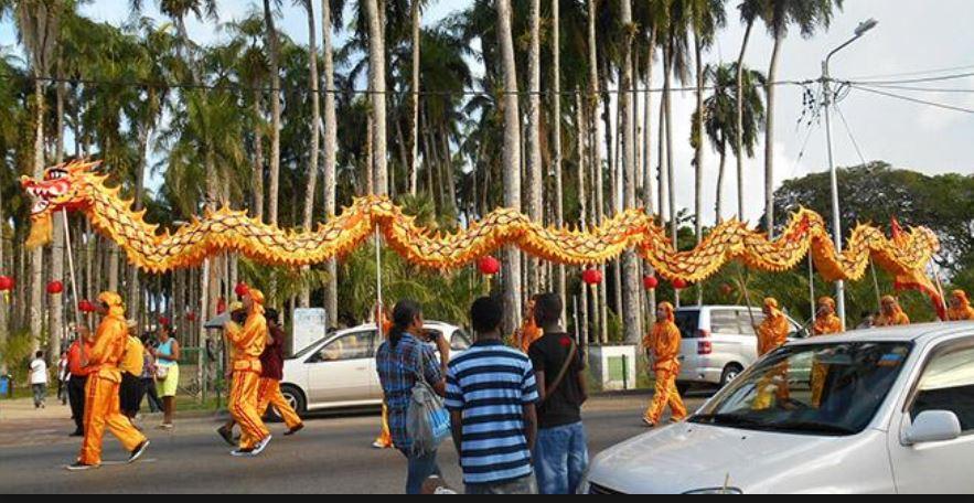 chinees Nieuwjaar Suriname