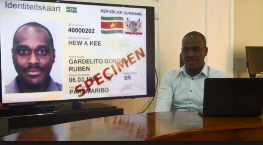 id kaart Suriname