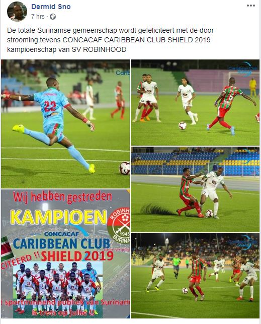 Suriname voetbal