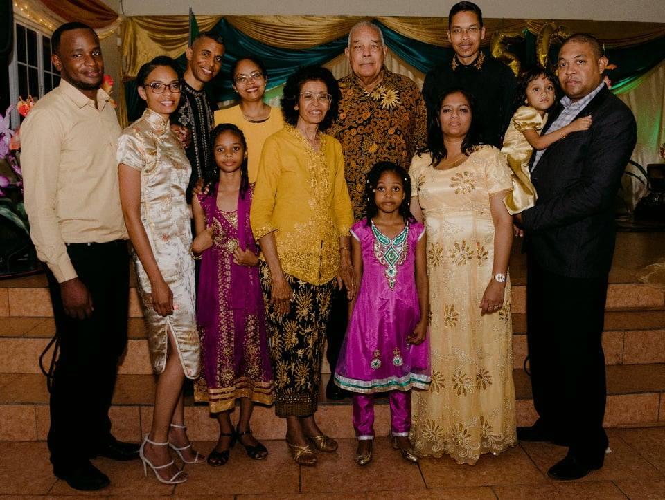 Van Leeuwaarde - Heath getrouwd Suriname