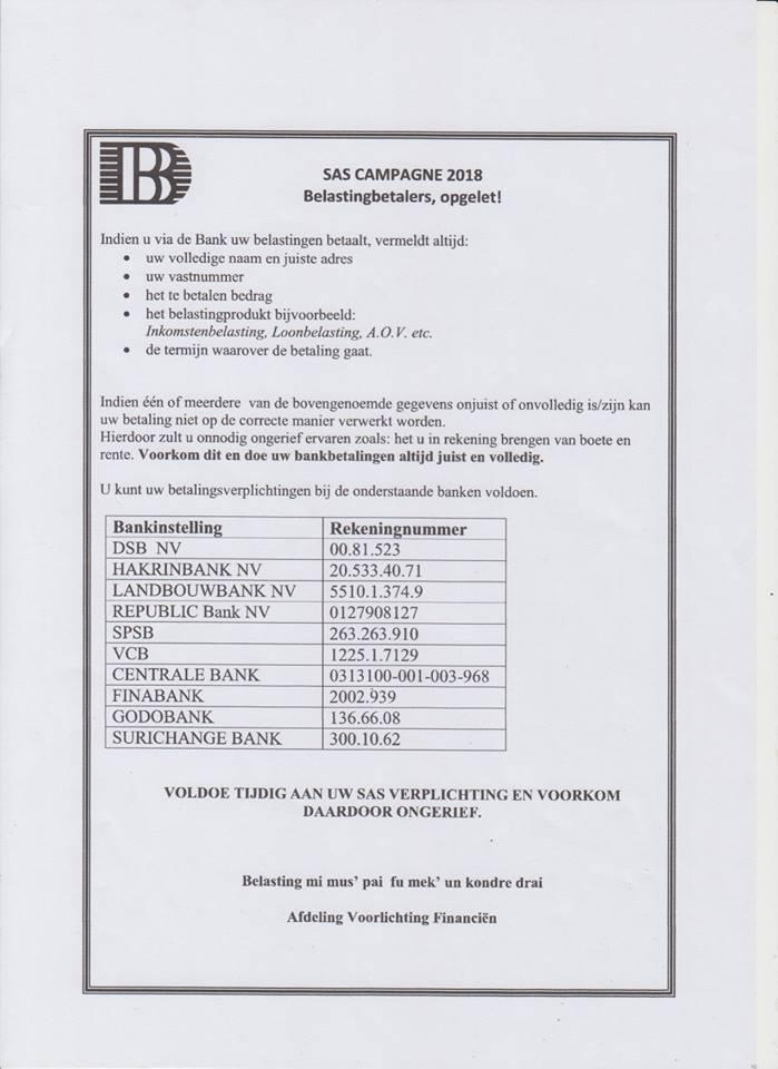 Belastingdienst Suriname