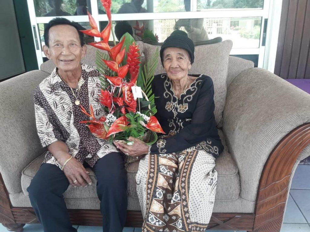 getrouwd Suriname Commewijne echtpaar Kartodikromo-Hirosemito