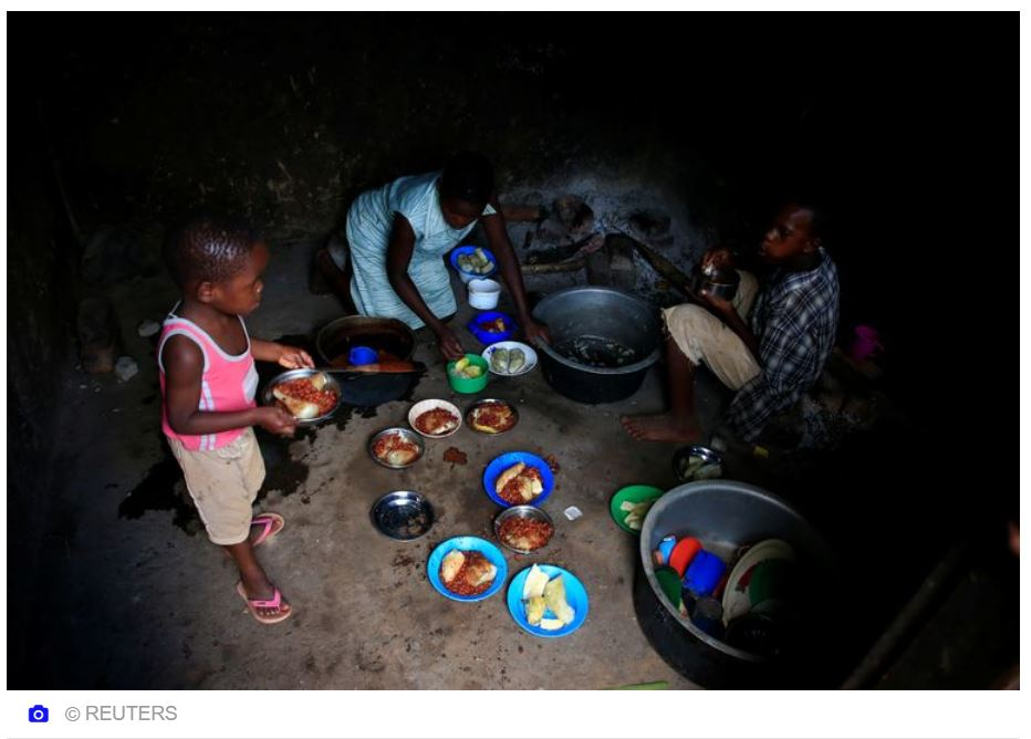 moeder kinderen Afrika