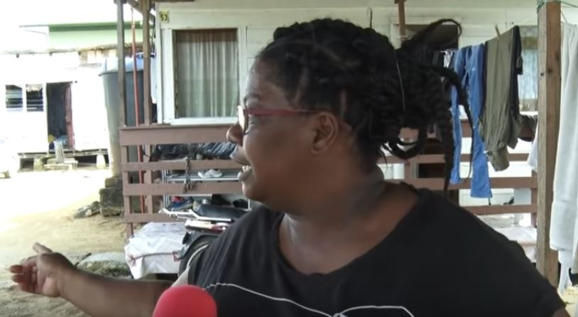 vrouw Paramaribo