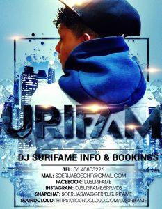 DJ Surifame - Bedrijvengids FamilieNieuws