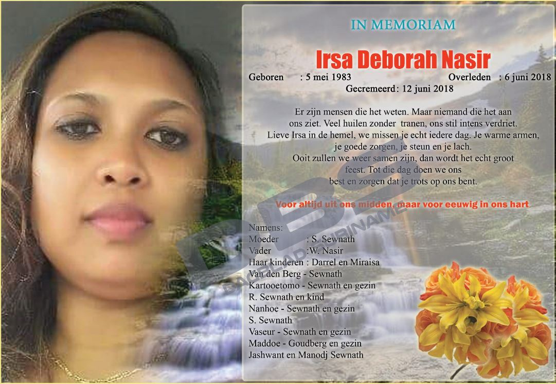 in Memoriam Suriname