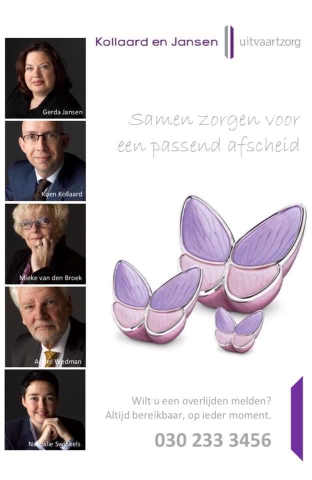Kollaard en Jansen Uitvaartzorg - FamilieNieuws Bedrijvengids