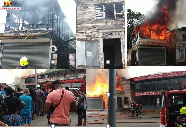 brand winkel Paramaribo