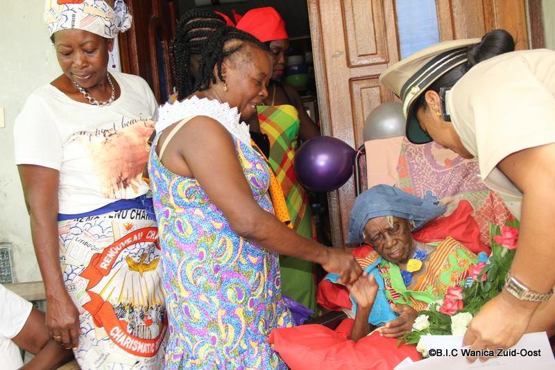 overleden Suriname 100 jaar