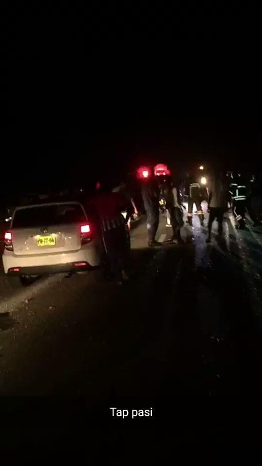 bus ongeluk Suriname