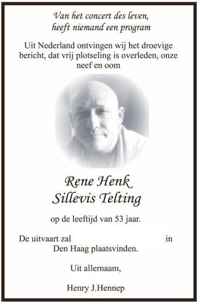 overleden Den Haag