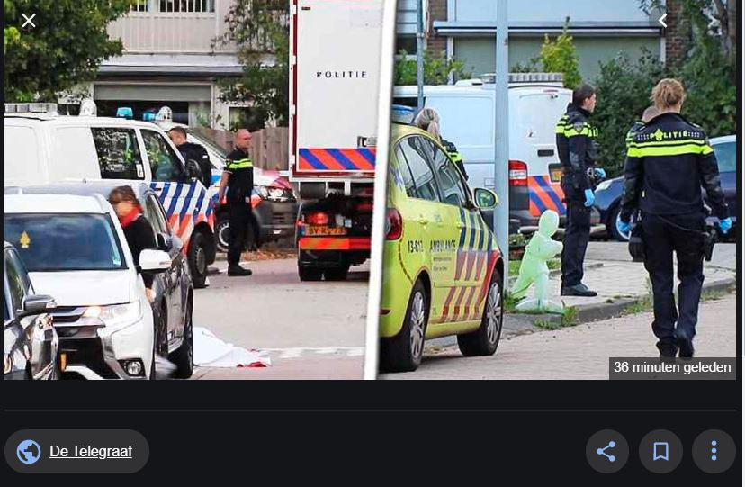doodgeschoten Amsterdam