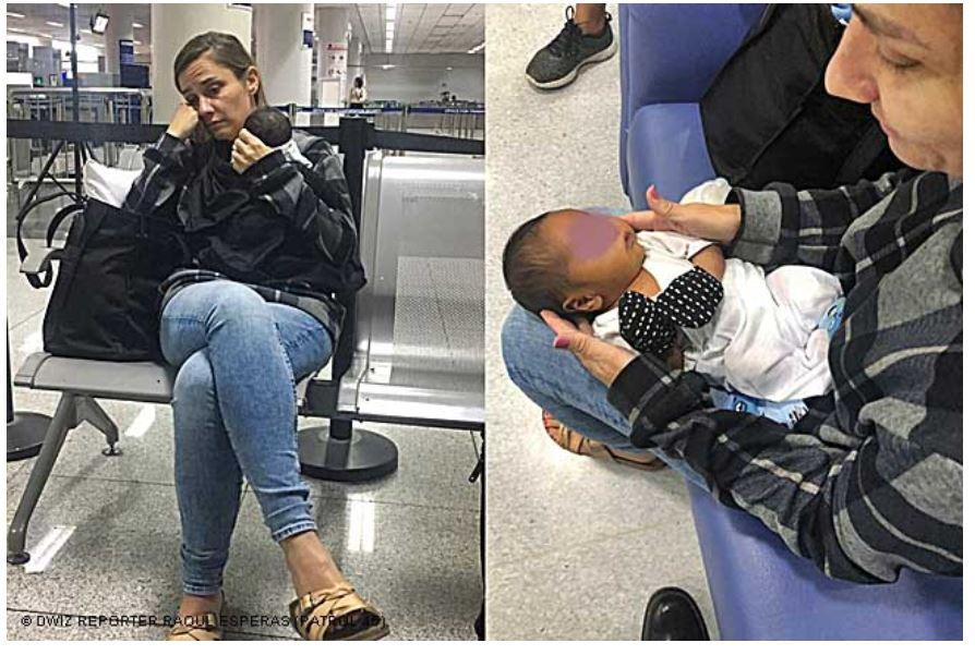baby vliegtuig Amerika