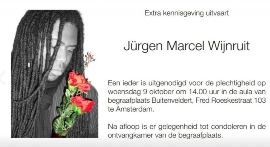 overleden Nederland Amsterdam