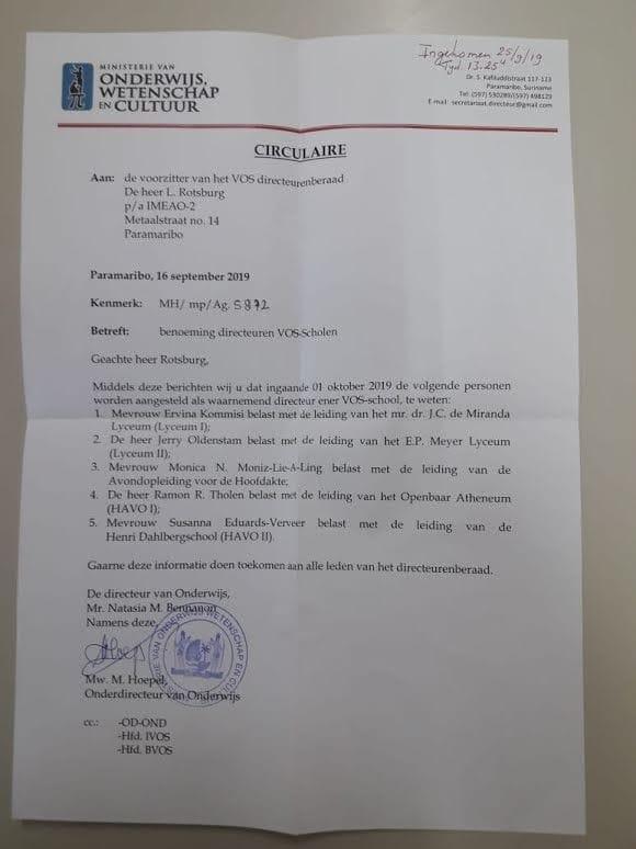 havo 1 Paramaribo