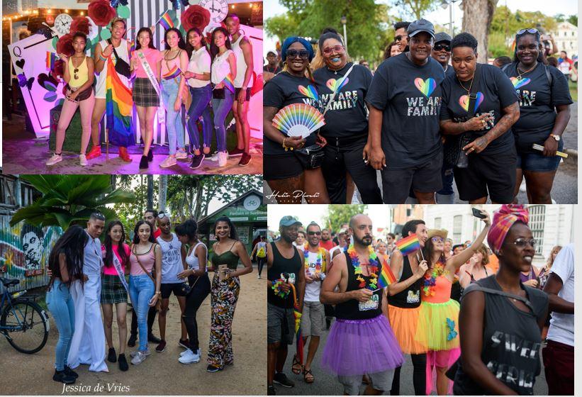 pride walk Paramaribo Suriname