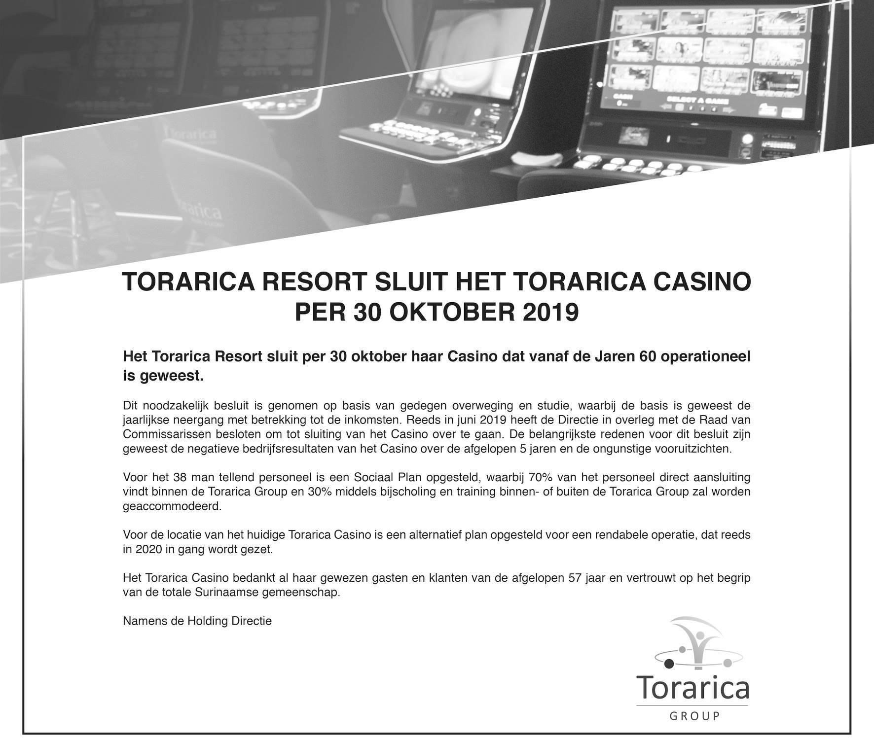 hotel casino Torarica Paramaribo