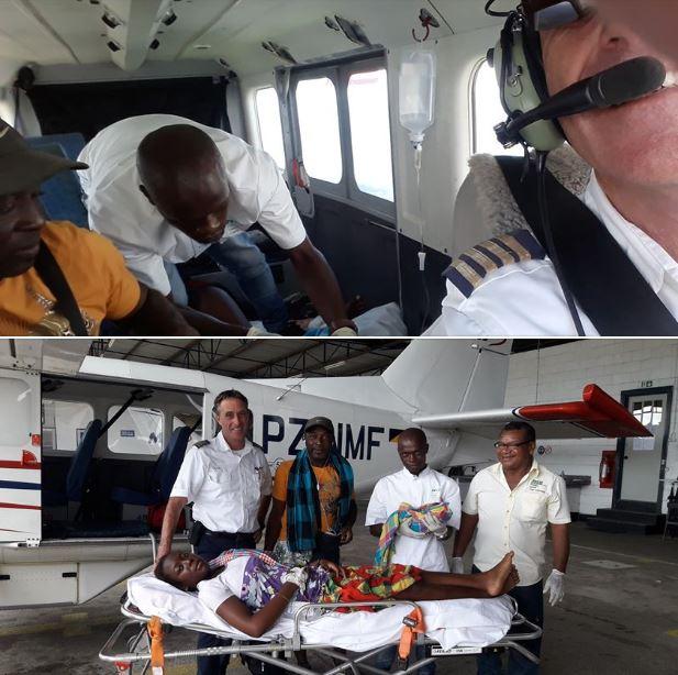 vliegtuig Suriname