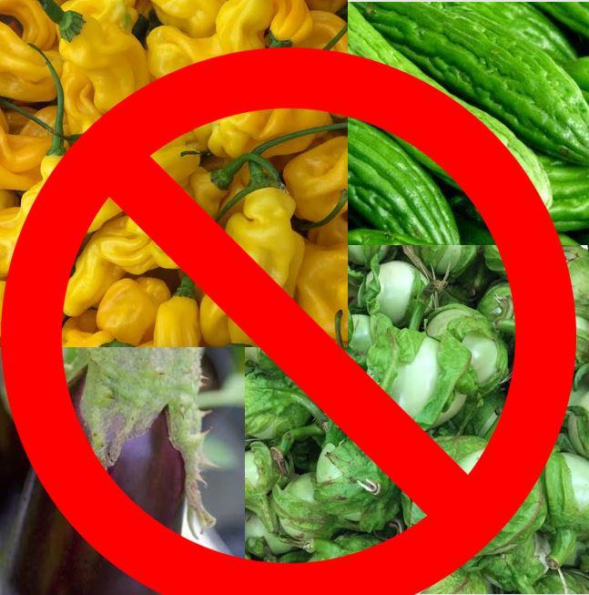 groente Suriname