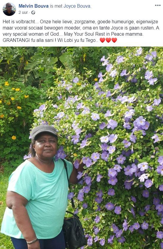 Bouva overleden Paramaribo