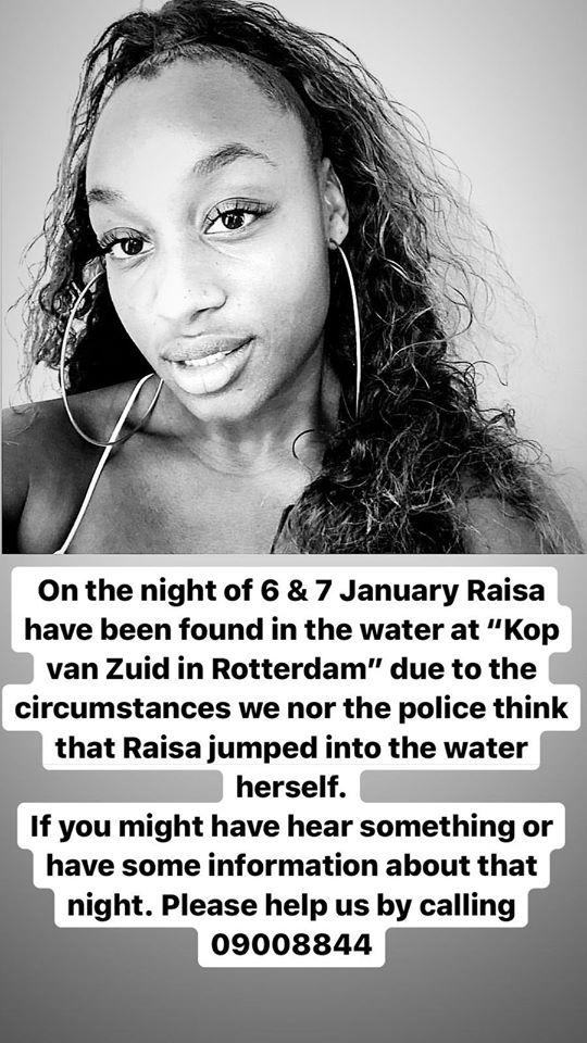 raisa Rotterdam overleden 12456