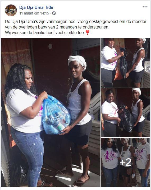 moeder baby Suriname