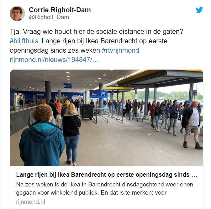 Nederland overleden