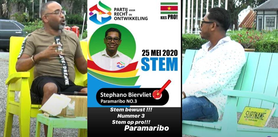 Suriname politiek