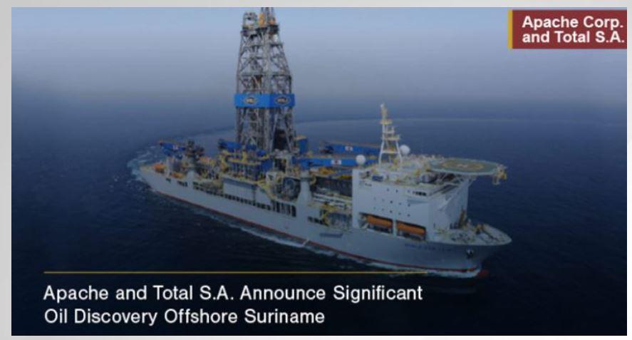 olie Suriname