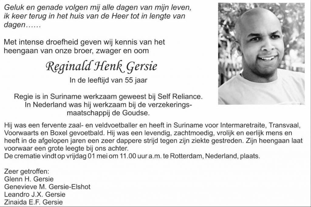 overleden Rotterdam