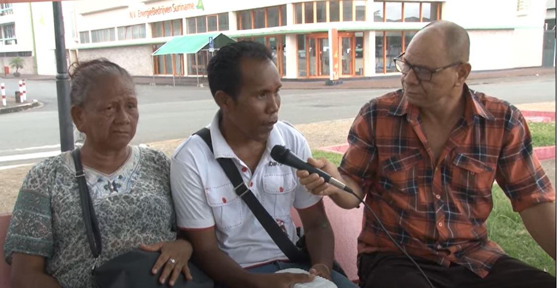 moeder Paramaribo