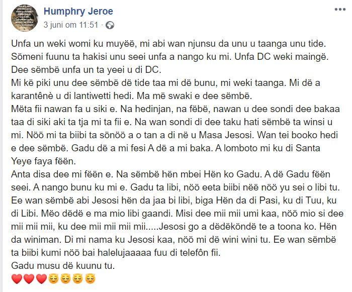 Jeroe Paramaribo