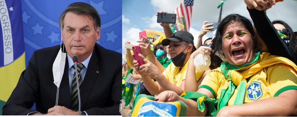 Brazilië besmettingen