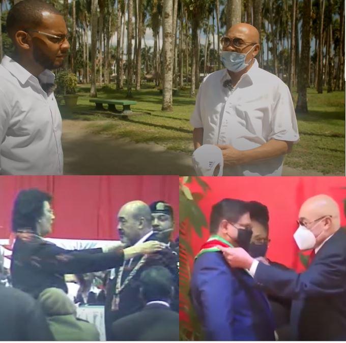 president Suriname