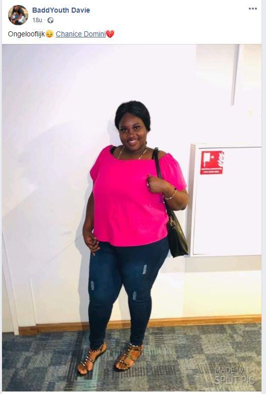 overleden Suriname Chanice Domini