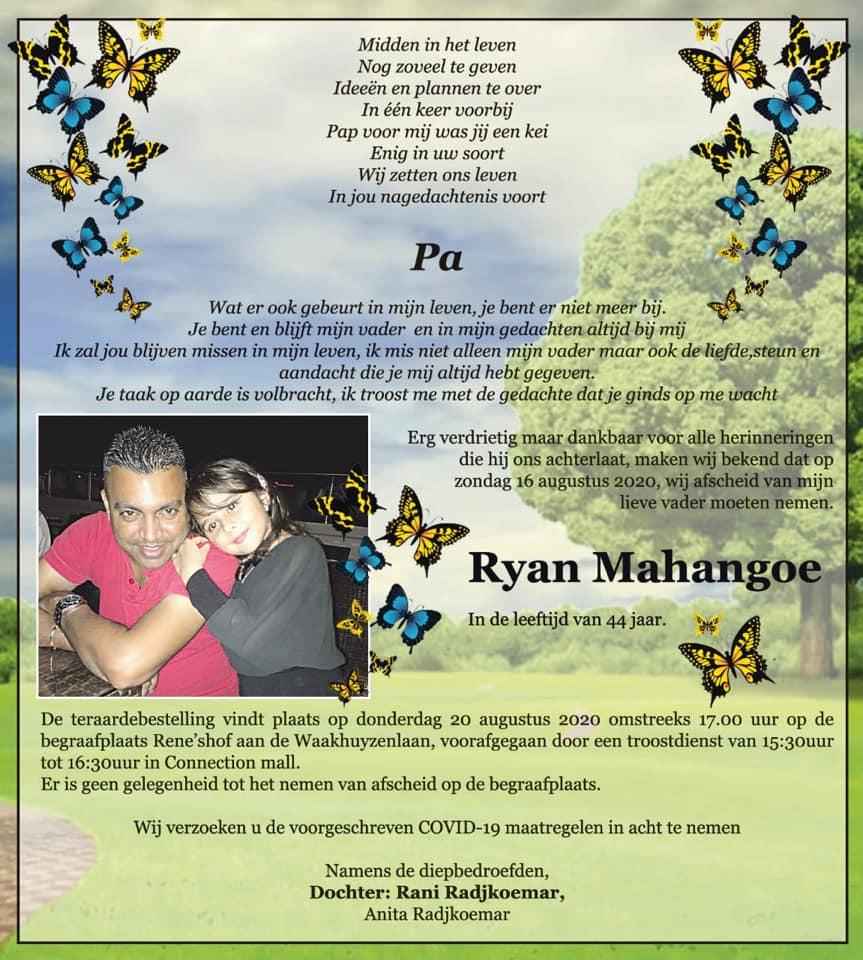 Ryan Mahangoe