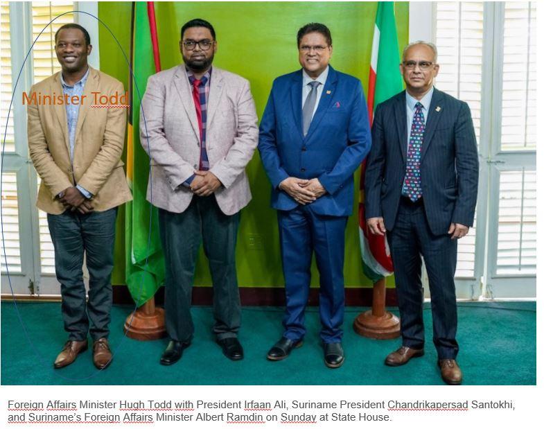 minister Guyana