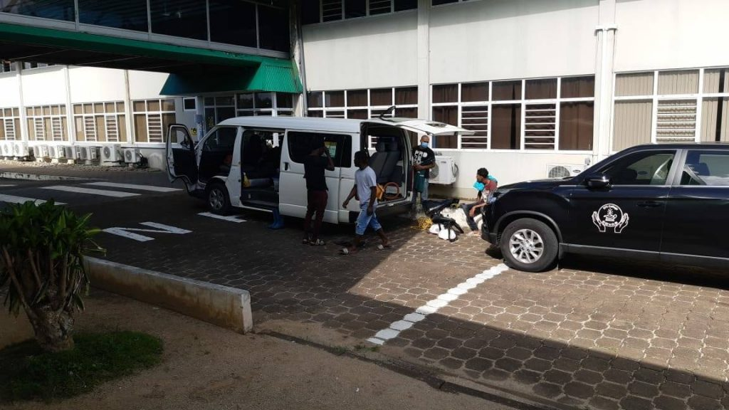 besmette student Paramaribo